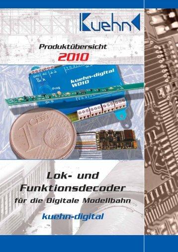 Lok- und Funktionsdecoder - Kuehn Digital