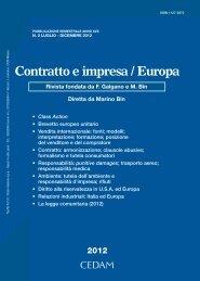 Dall'America Latina un messaggio per l'Unione europea sul diritto ...