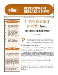 From the local banks' perspective: Feeling - Philippine Institute for ...