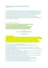 1 1996. ÉVI LIII. törvény a természet védelméről (1. rész) //2004.04 ...