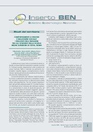 scarica il pdf - EpiCentro - Istituto Superiore di Sanità