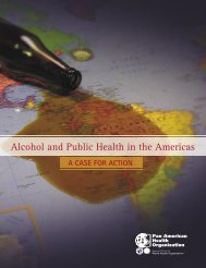 Alcohol and public health in the Americas: a case for action