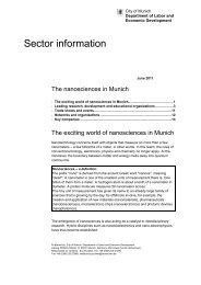 Sector information - Wirtschaft