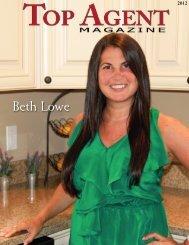 Beth Lowe - Top Agent Magazine