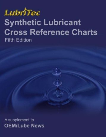 Synthetic Lubricant Cross Reference Chart Series ... - LubritecInc.com
