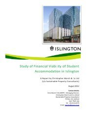 Study off Finan Acco ncial ommo Viabi odatio lity ... - Islington Council