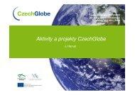 Aktivity a projekty CzechGlobe - 7RP