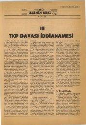 TKP Davası İddianamesi III