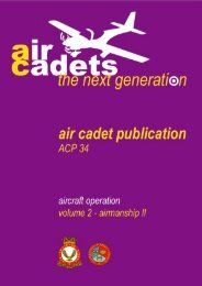 ACP 34 Volume 2 – Airmanship II - 967 Air Cadets