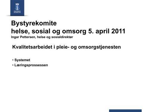 Hva er et avvik? - Drammen kommune
