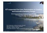 Udviklingstendenser indenfor den digitale byggeproces. - IT in Civil ...