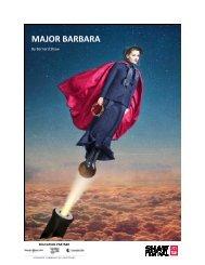 the Major Barbara study guide. - Shaw Festival Theatre