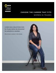 choose the career that fits women in trades - Industry Training ...
