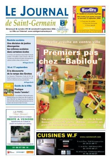 "Premiers pas chez ""Babilou"" - Saint Germain-en-Laye"