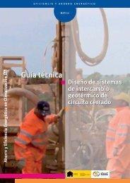 Guía técnica diseño de sistemas de intercambio geotérmico de ...