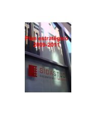 Plan estratégico 2009-2011 - Sida Studi