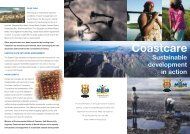 Sustainable Development in Action - South African Coastal ...