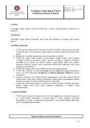 18/1-Yenidoğan Yoğun Bakım Ünitesi Enfeksiyon Kontrol Talimatı