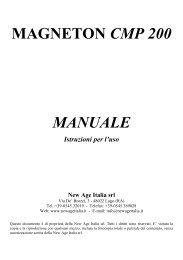 MAGNETON CMP 200 MANUALE Istruzioni per l'uso