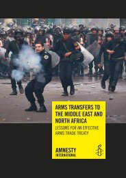 arms transfers to the middle east and north africa - Amnesty ...