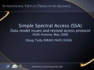 Simple Spectral Access (SSA) - IVOA