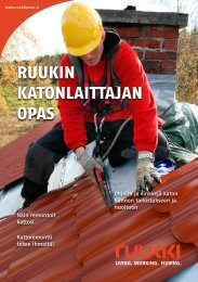 Lataa Ruukin katonlaittajan opas tästä - Rakentaja.fi