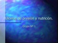 Ulceras de presión y nutrición
