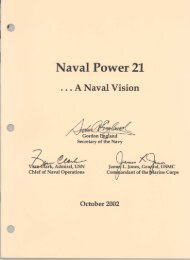 Naval Power 21 - Navy