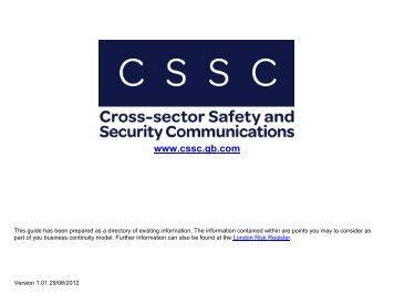CSSC - Advice for Businesses - Vocal