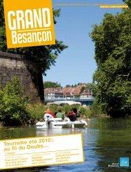 (juillet-août 2010) - Tourisme été 2010 : au fil du Doubs ... - Besançon