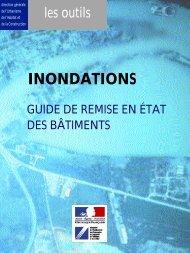 Inondations - Guide de remise en état des bâtiments, réédition mars ...