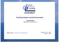 Diesel Engine and the Environment - Clean Shipping Technology