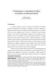 Volontariato e criminalità in Italia.pdf - Aicod