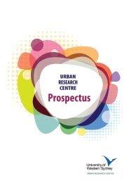 Prospectus - University of Western Sydney