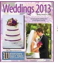Weddings 2013 - Watertown Daily Times