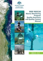 Reef rescue marine monitoring program quality assurance and ...