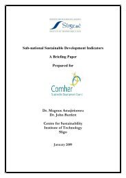 Sub-national Sustainable Development Indicators A Briefing Paper ...