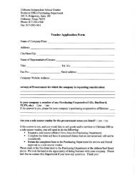 Vendor Request Form.pdf - Cleburne Independent School District