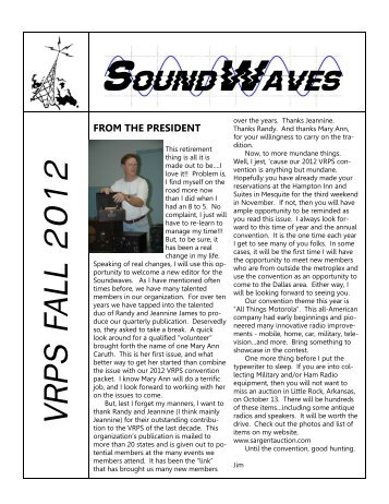 Soundwaves Oct 2012