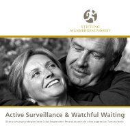 Active Surveillance & Watchful Waiting