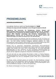 PRESSEMELDUNG - Immobilien Zentrum