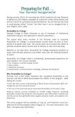Students Guide 2010 | Undergraduate Admissions | Georgia College - Page 4