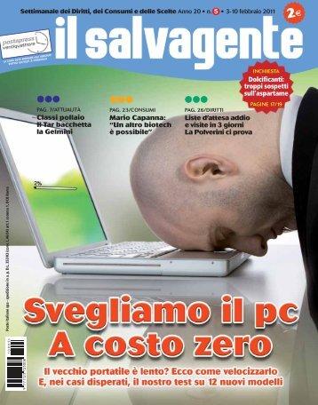 Il Salvagente n° 5 - Modenacinquestelle.it