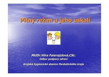 (Microsoft PowerPoint - Pitn\375 re\236im a jeho \372skal\355 ...