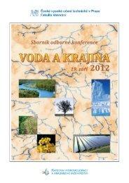 Sborník příspěvků 2012 - Katedra hydromeliorací a krajinného ...