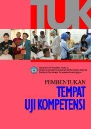 Pedoman Pembentukan Tempat Uji Kompetensi (TUK)