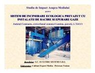Sistem de Incinerare Ecologica Prevazut cu Instalatii de racire si ...