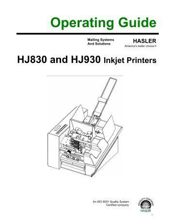 Hasler wj65