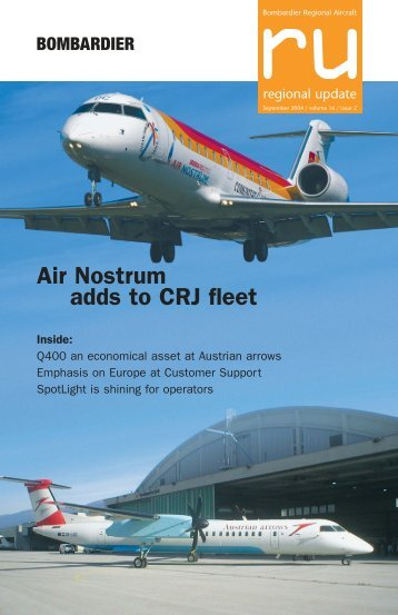 Air Nostrum adds to CRJ fleet - Bombardier