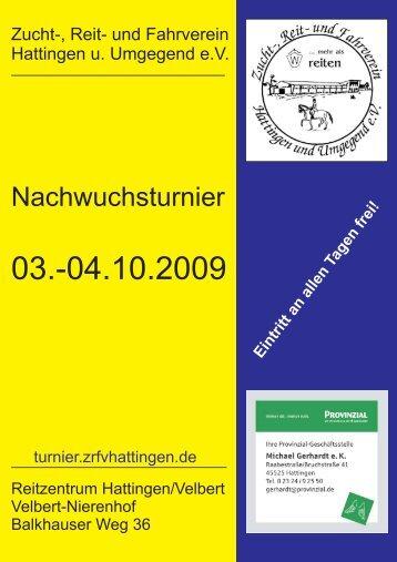 Nachwuchsturnier (201 kB) - Zucht-, Reit